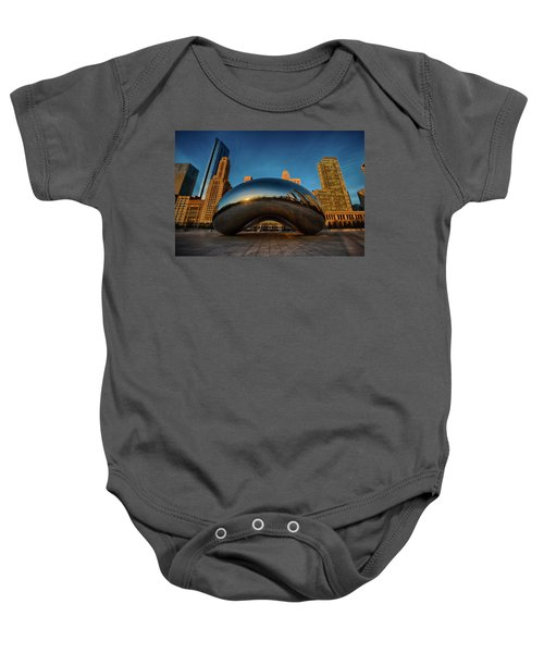 Morning Bean Baby Onesie by Sebastian Musial