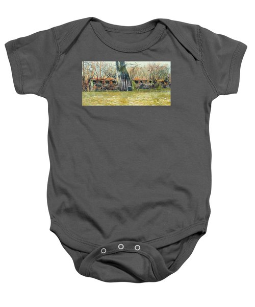 Morning Flight At Little Basin Baby Onesie