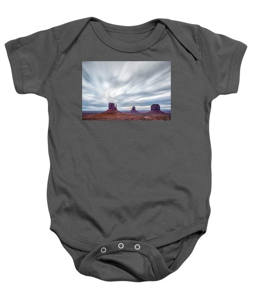 Morning In Monument Valley Baby Onesie