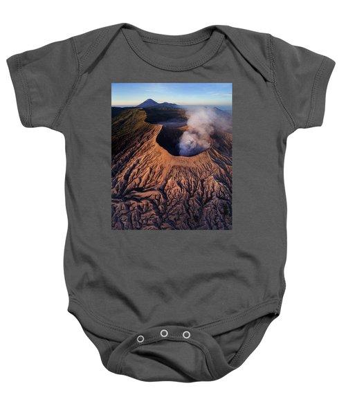 Mount Bromo At Sunrise Baby Onesie
