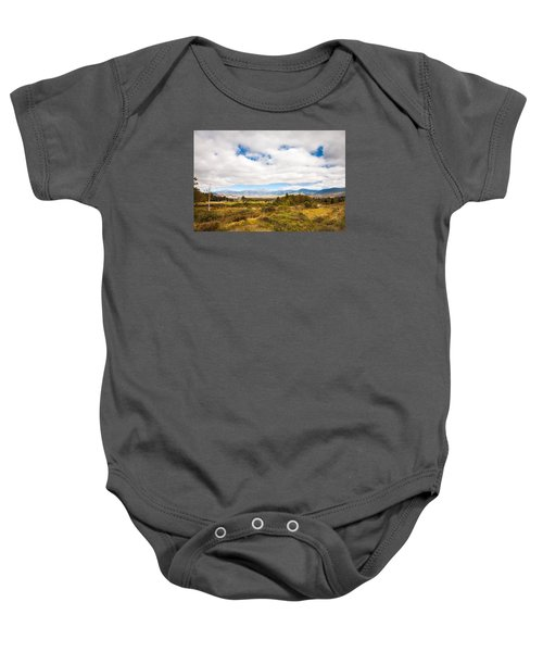 Mount Washington Hotel Baby Onesie