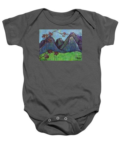 Copper Mountain Pose Baby Onesie