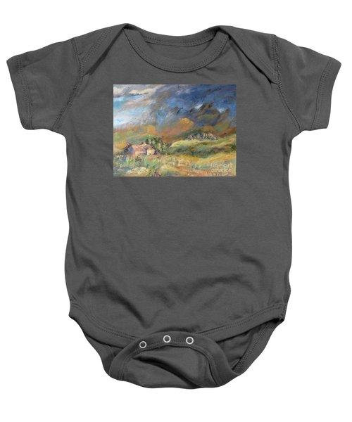 Mountain Storm Baby Onesie