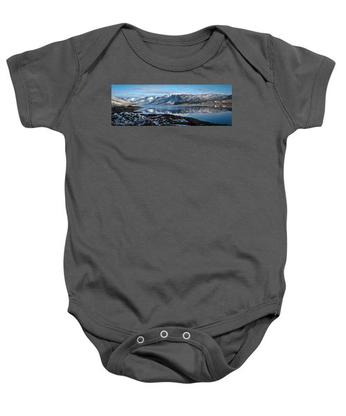 Mountain Tranquillity  Baby Onesie