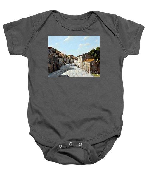 Mountain Village Main Street Baby Onesie