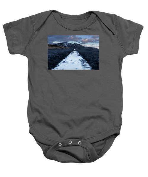 Mountains In Iceland Baby Onesie