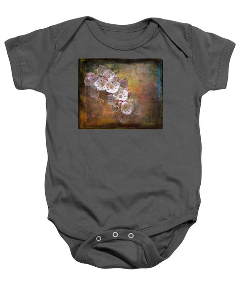 Mountain Laurel Baby Onesie by Bellesouth Studio