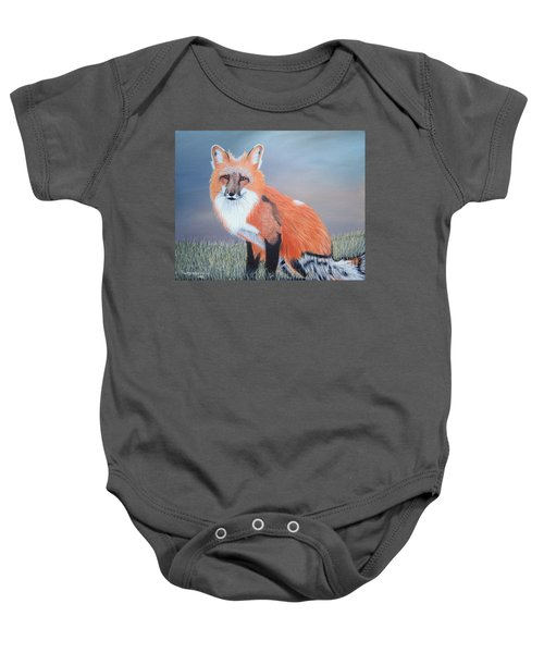Mr. Fox Baby Onesie