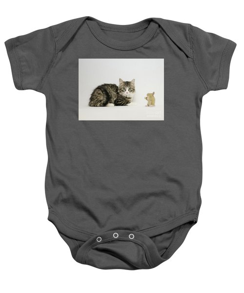 Ms Alexia And Mouse Baby Onesie