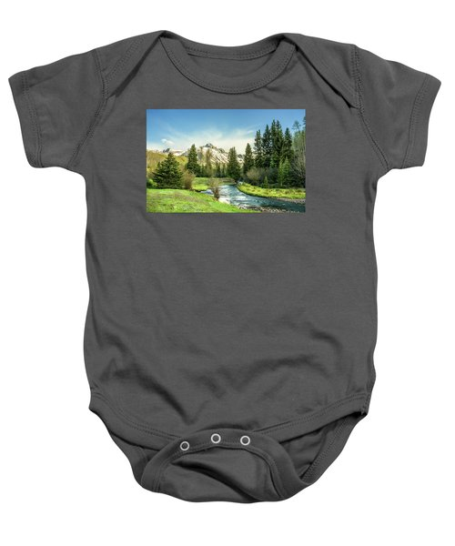 Mt. Sneffels Peak Baby Onesie