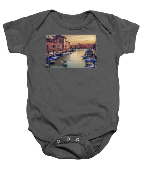 Murano Late Afternoon Baby Onesie