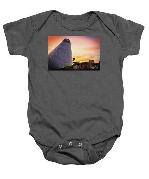 Museum Of Glass Tower#2 Baby Onesie