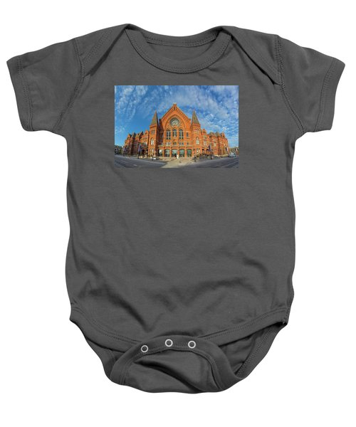 Music Hall Baby Onesie
