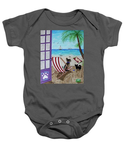 My 3 By The Sea Baby Onesie