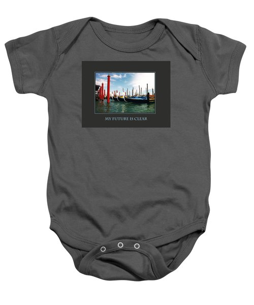 My Future Is Clear Baby Onesie