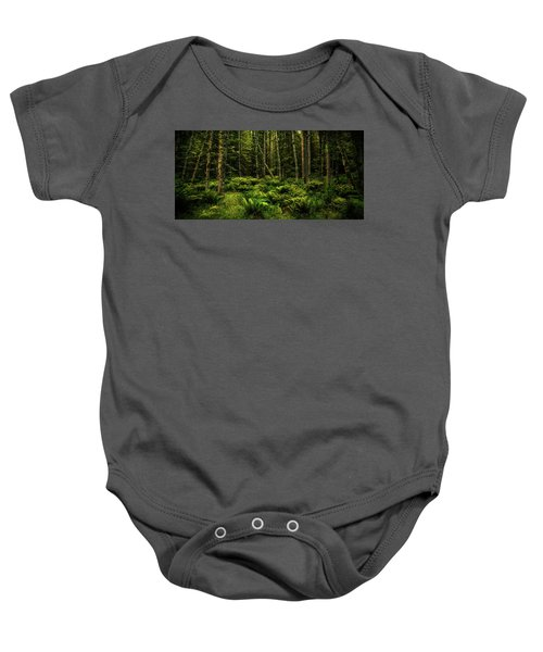 Mysterious Forest Baby Onesie