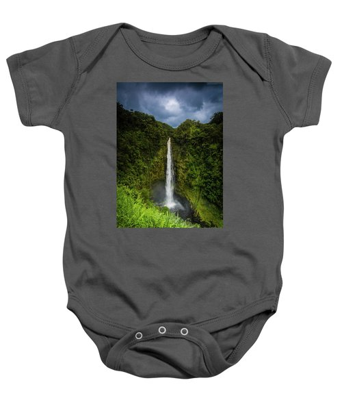 Mystic Waterfall Baby Onesie