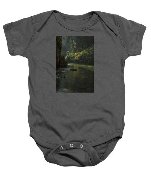 Mystical Canyon Baby Onesie