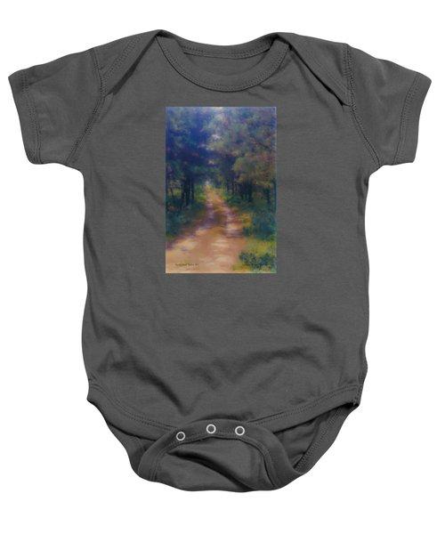 Nantucket Paths #1 Baby Onesie