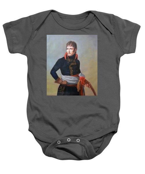 Napoleon Bonaparte As First Consul Baby Onesie