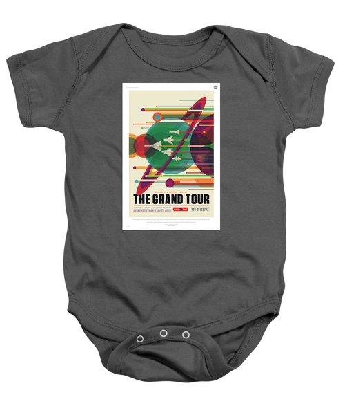 Nasa The Grand Tour Poster Art Visions Of The Future Baby Onesie