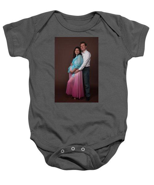 Nasiba And Clinton Baby Onesie