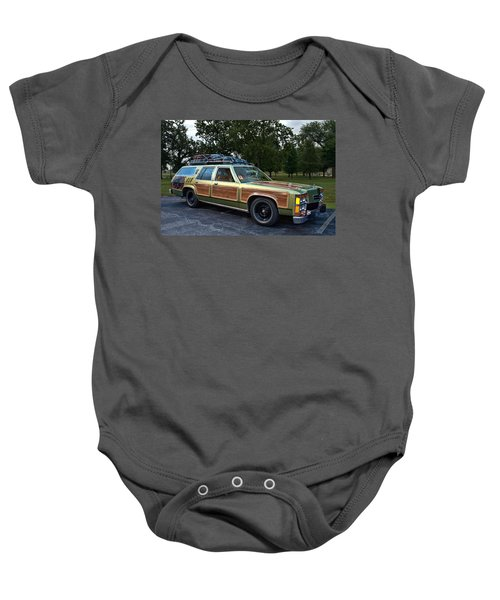 National Lampoons Vacation Truckster Replica Baby Onesie