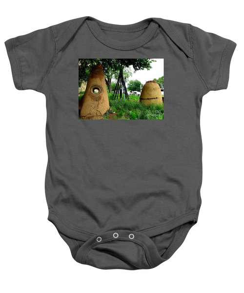 National Museum Of The American Indian 5 Baby Onesie by Randall Weidner