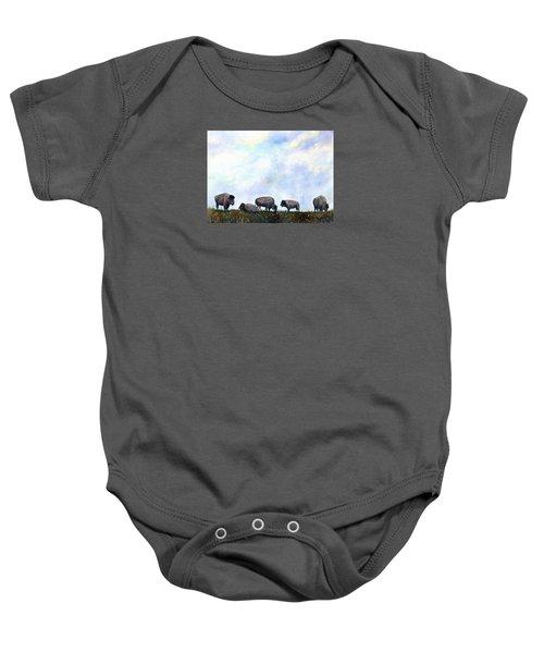 National Treasure - Bison Baby Onesie