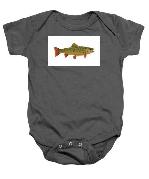 Native Brook Trout Baby Onesie
