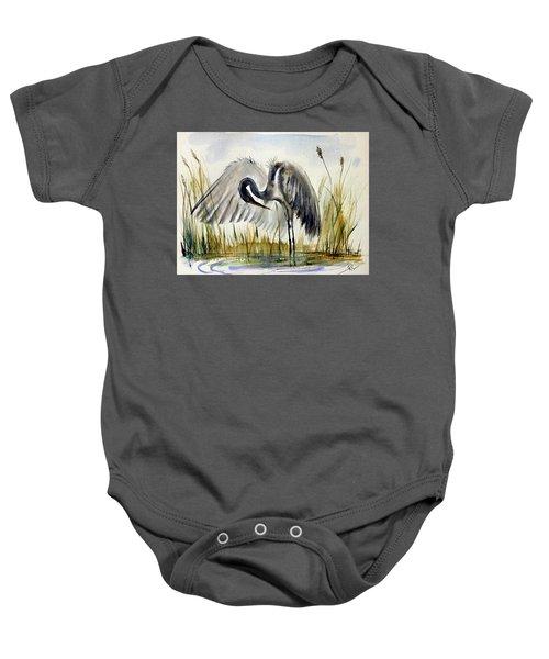 Near The Pond 3 Baby Onesie
