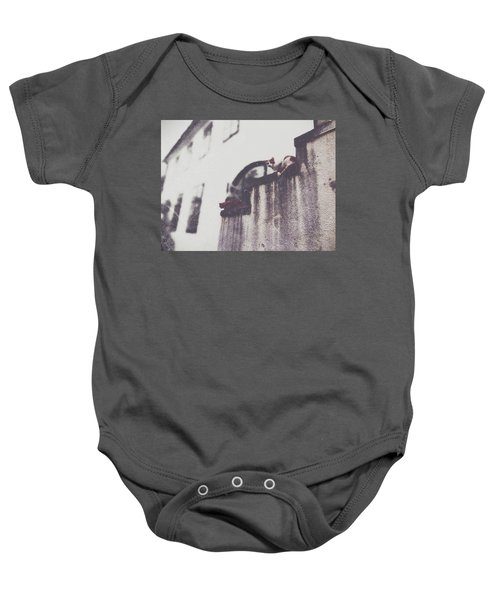 Neighbors Cats Baby Onesie by Siegfried Ferlin