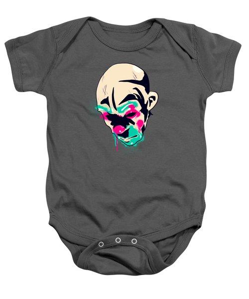 Neon Clown Baby Onesie