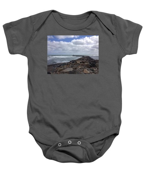 New England Jetty Baby Onesie