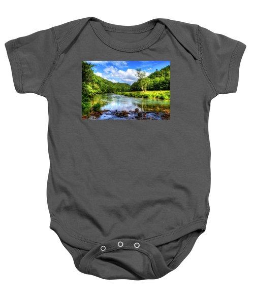 New River Summer Baby Onesie