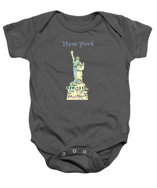 New York Baby Onesie