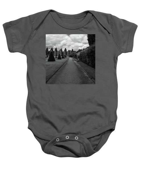 Newstead Abbey Country Garden Gravel Path Baby Onesie