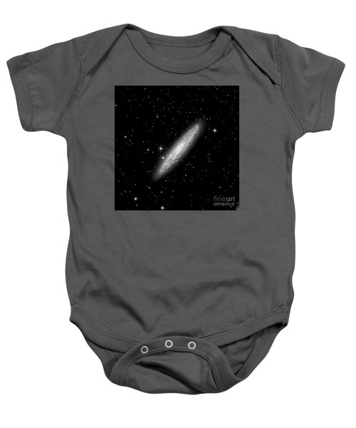 Ngc253 The Sculptor Galaxy Baby Onesie