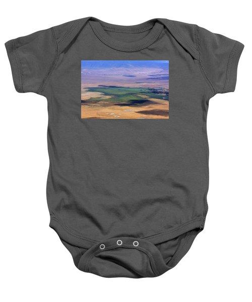 Ngorongoro Crater Tanzania Baby Onesie