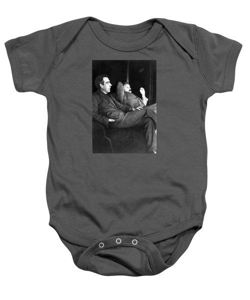 Niels Bohr And Albert Einstein Baby Onesie