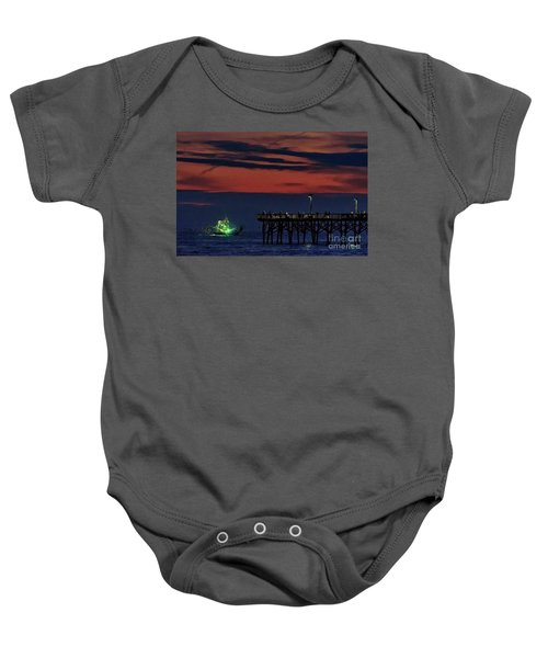 Night Fishing Baby Onesie