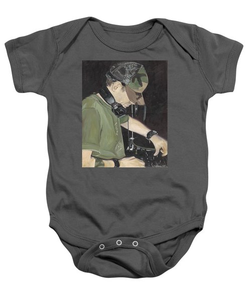 Night Job Baby Onesie