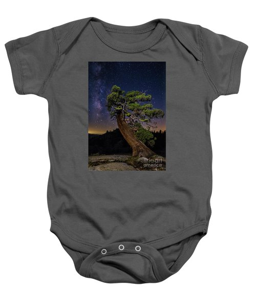Baby Onesie featuring the photograph Night Sky  by Vincent Bonafede