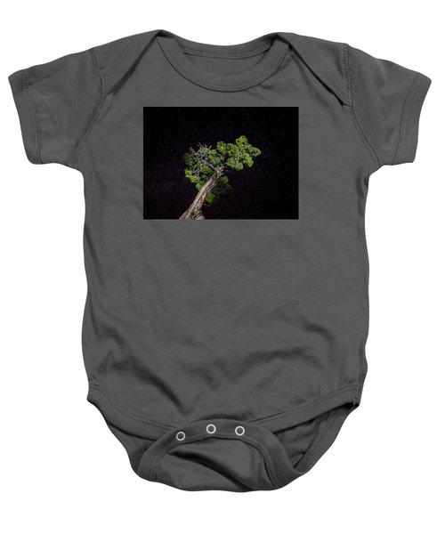 Night Tree Baby Onesie