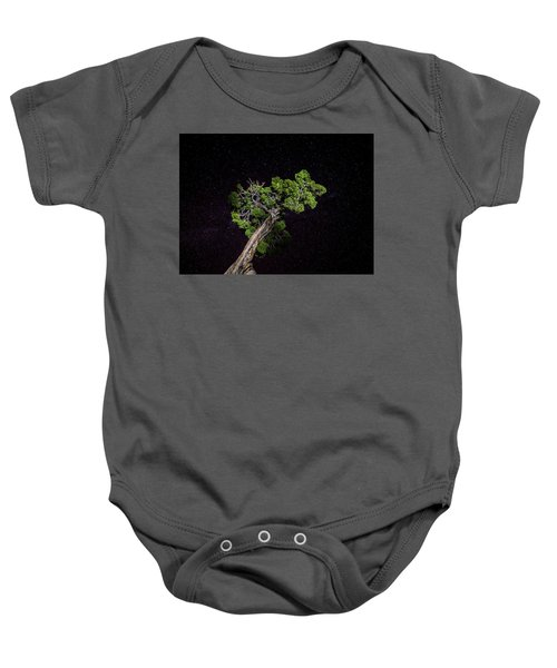 Night Tree Baby Onesie
