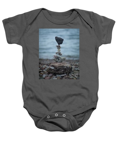 Zen Stack #6 Baby Onesie