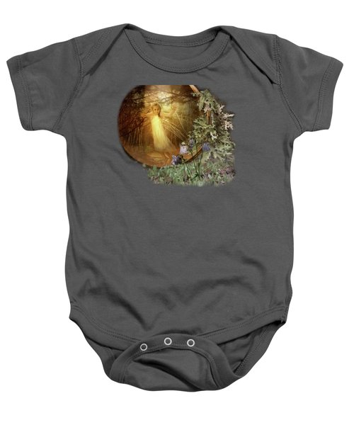 No Such Thing As Elves Baby Onesie by Susan Capuano