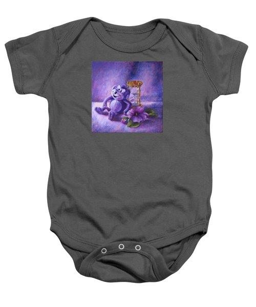 No Time To Monkey Around Baby Onesie