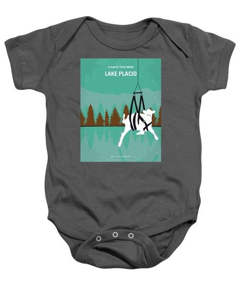 No944 My Lake Placid Minimal Movie Poster Baby Onesie
