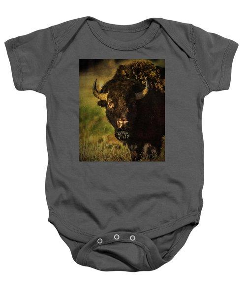 North American Buffalo Baby Onesie